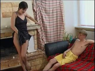 Горячая мама сексом