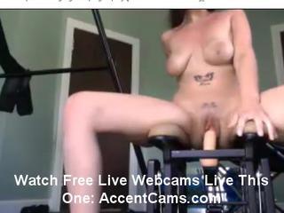 Девушка на ебля машина Об LiveCam