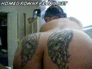 lightskin татуированной попой