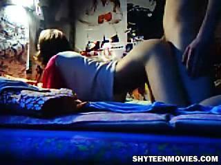 Застенчивый подросток Секс HomeVideo