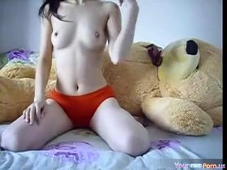Подросток едет Teddybear