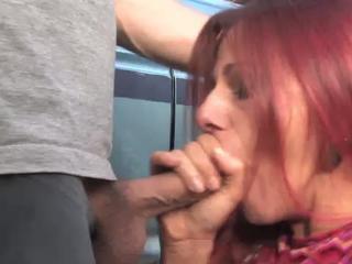Сексуальная реального рыжий грамм